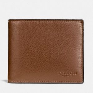 Coach Compact ID Wallet NEW WITH TAGS